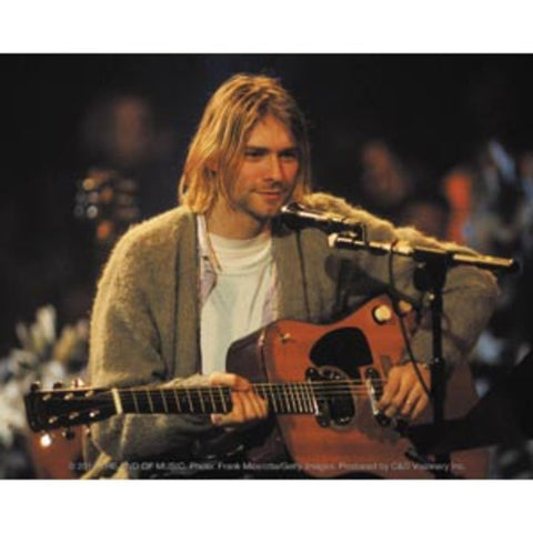 Nirvana Kurt Cobain Playing Sticker
