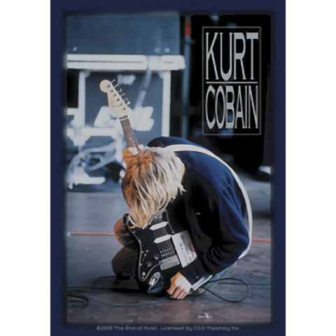 Nirvana Kurt Kneeling Sticker