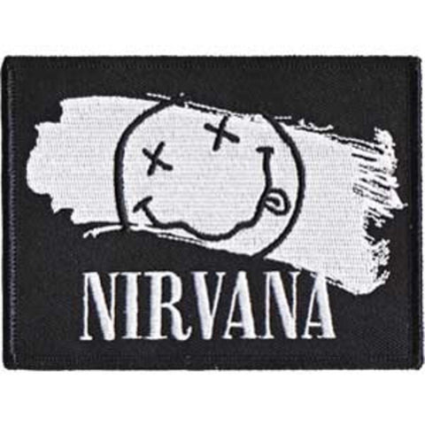 Nirvana Smiley Paint Patch
