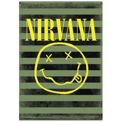 Nirvana Smiley Stripes Sticker
