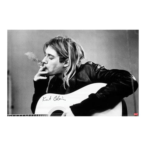 Nirvana Smoking Poster