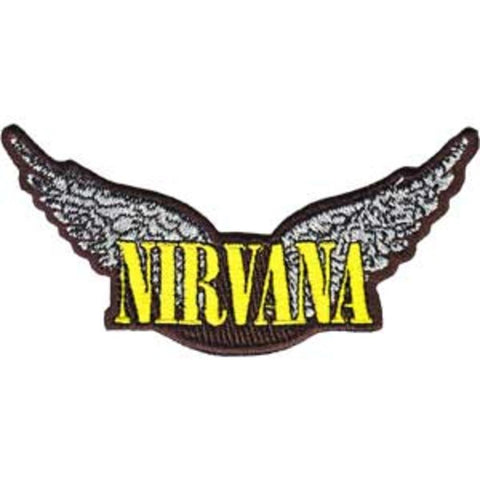 Nirvana Wings Patch