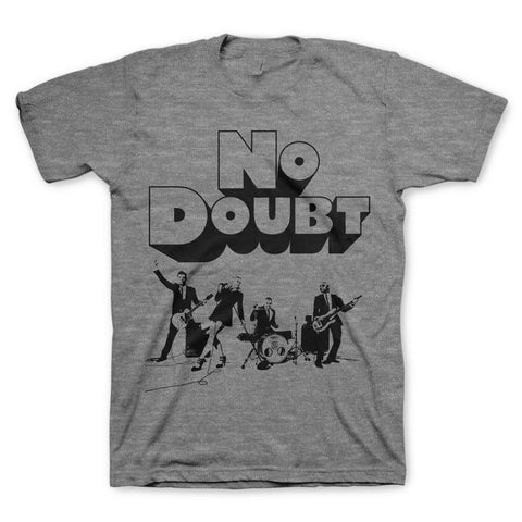 No Doubt Clockwork Live Men's T-Shirt