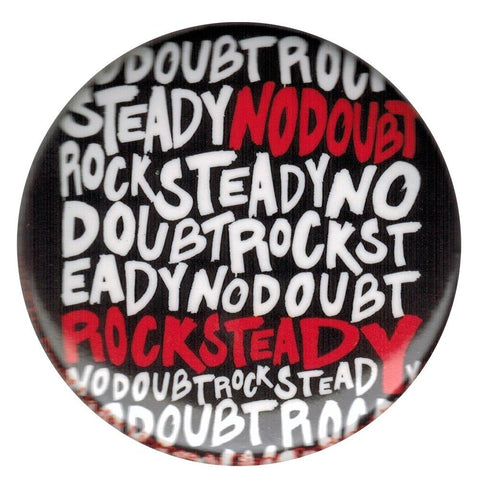 No Doubt Rock Steady Large Round Button