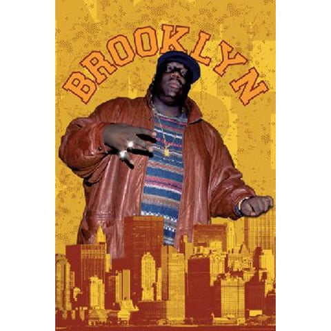 Notorious BIG Brooklyn Poster