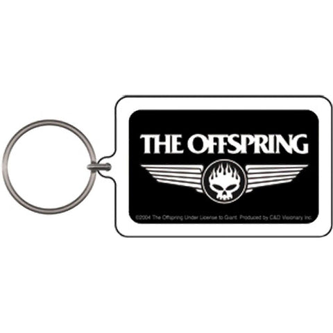 Offspring Wings Lucite Keychain
