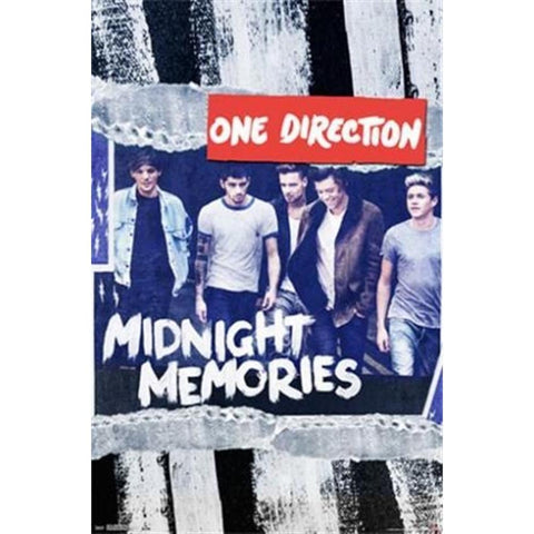 One Direction Midnight Memor Poster