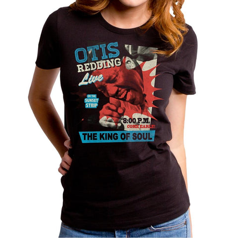 Otis Redding Poster Women's Premium Soft T-Shirt