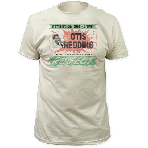 Otis Redding Respect Men's Fitted T-Shirt