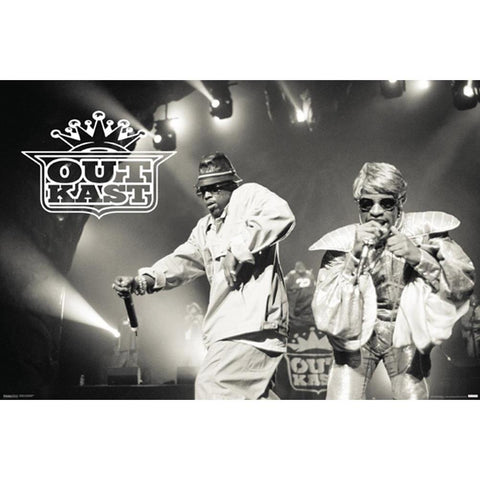 Outkast Performing Poster
