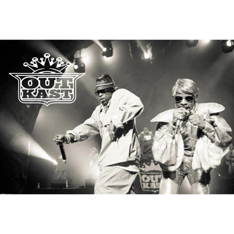 Outkast Performing Wall Poster