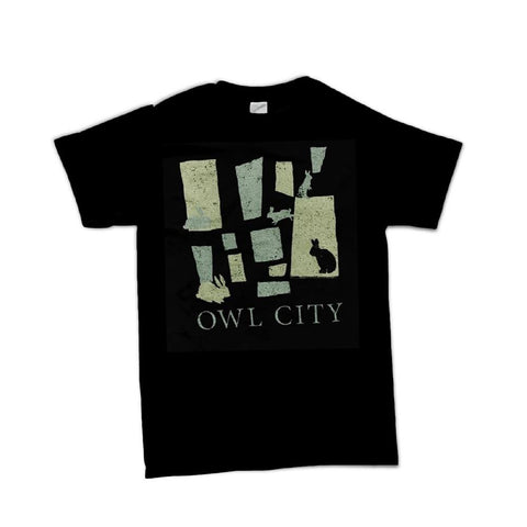 Owl City Bunnies Men's T-Shirt