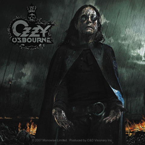 Ozzy Osbourne Black Rain Sticker