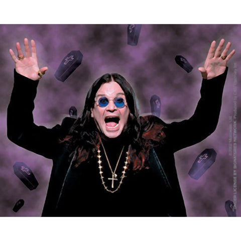 Ozzy Osbourne Coffins Sticker