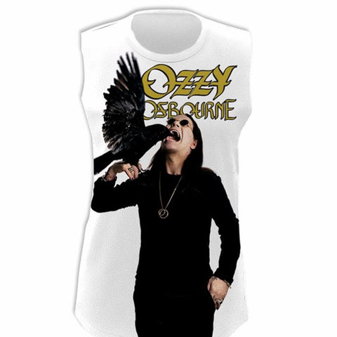 Ozzy Osbourne Crow Cackle Men's Tank T-Shirt