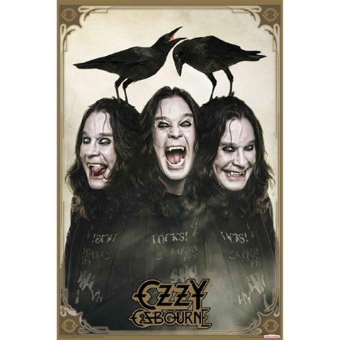 Ozzy Osbourne Crows Poster