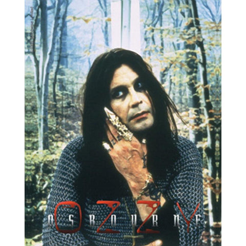 Ozzy Osbourne Chain Mail Metal Finger Sticker