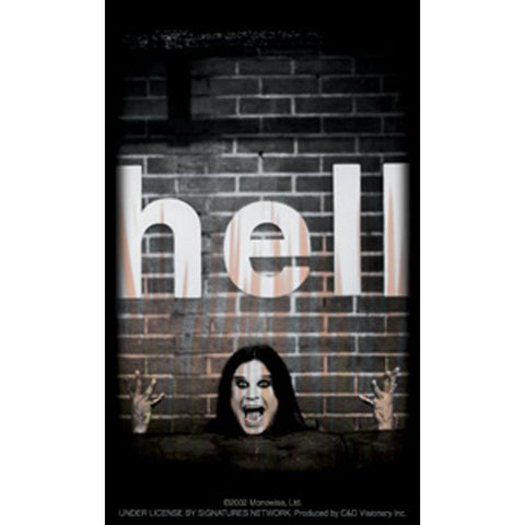 Ozzy Osbourne Hell Sticker