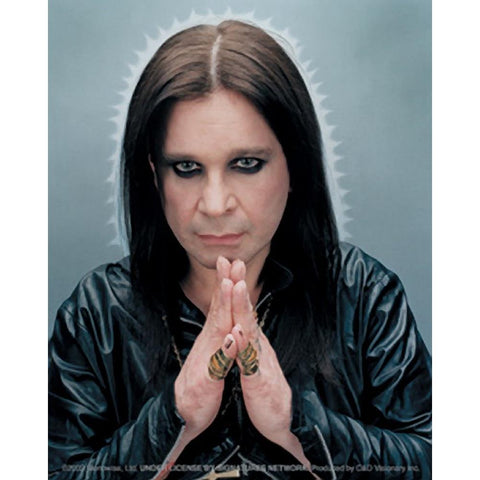 Ozzy Osbourne Praying Sticker