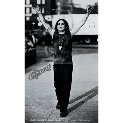 Ozzy Osbourne Rejoicing Sticker