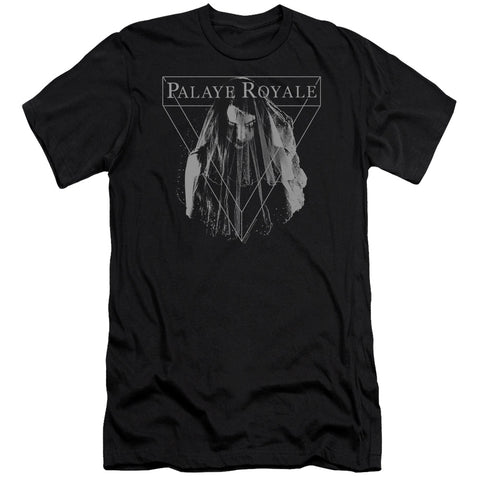 Palaye Royale Special Order Veil Men's Premium Ultra-Soft 30/1 100% Cotton Slim Fit T-Shirt - Eco-Friendly - Made In The USA