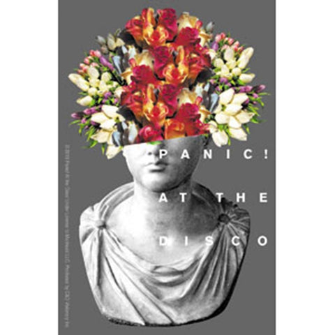 Panic At The Disco Flower Head Sticker