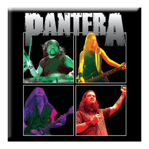 Pantera Band Photo Magnet