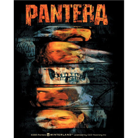 Pantera Distorted Faces Sticker