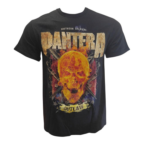 Pantera Outlaw Skull Men's T-shirt