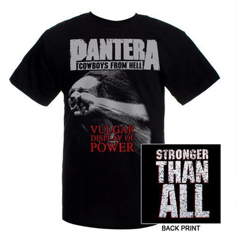 Pantera Vulgar Display of Power Men's T-shirt