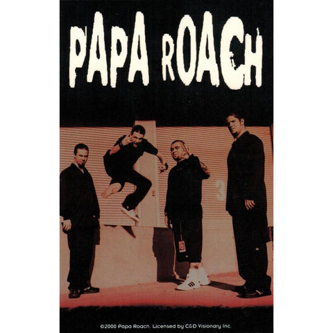 Papa Roach Group Photo Sticker