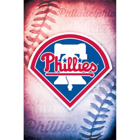 Philadelphia Phillies Logo 14 Wall Poster