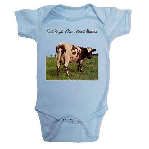 Pink Floyd Atom Heart Cow Infant One-Piece Bodysuit