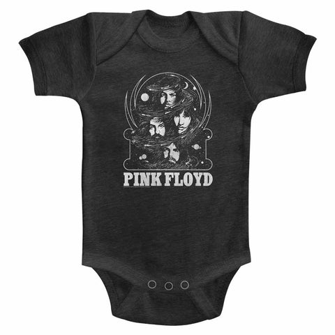 Pink Floyd Special Order Full Of Stars Infant S/S Heather Bodysuit