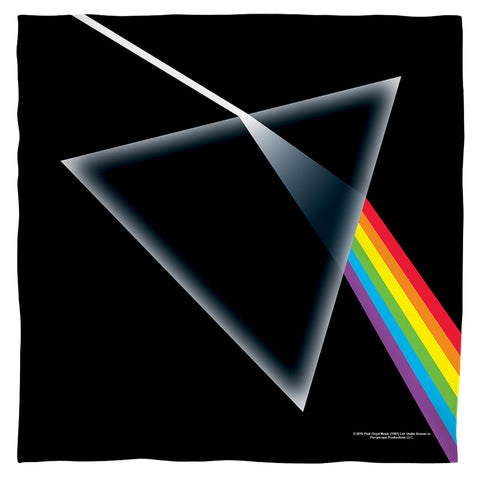 Pink Floyd Dark Side Of The Moon Polyester Bandana