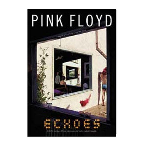 Pink Floyd Echoes Fabric Poster