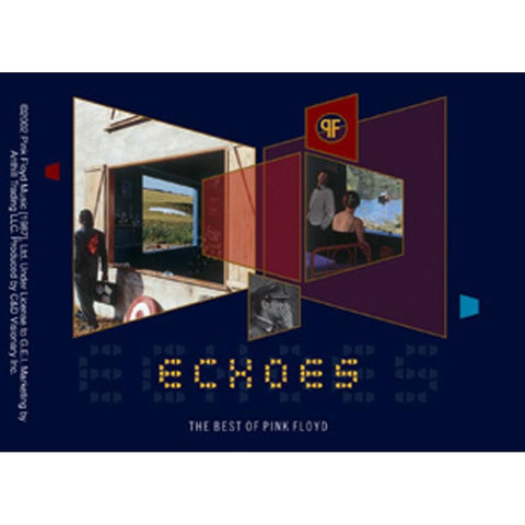 Pink Floyd Echoes Album Cover Sticker