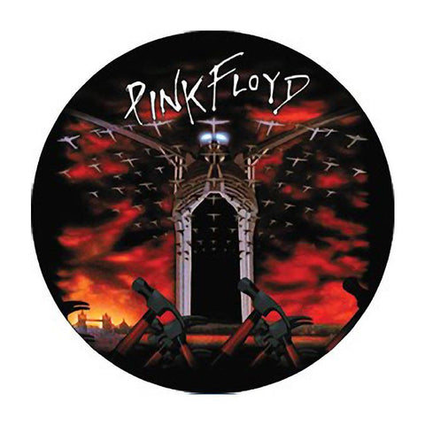 Pink Floyd Hammer And Plane Button