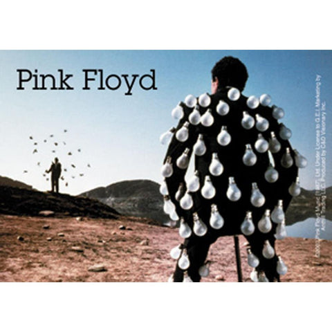 Pink Floyd Light Bulb Man Sticker