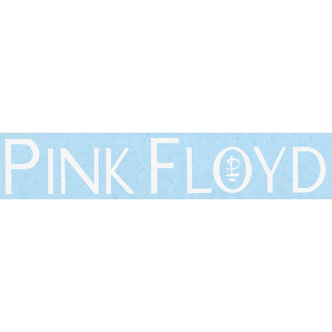 Pink Floyd Montrain Logo Rub-On Sticker - White
