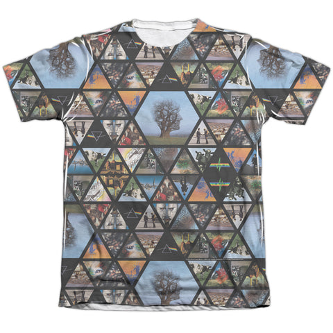 Pink Floyd Special Order Photographs Men's Regular Fit 65% Poly 35% Cotton Short-Sleeve T-Shirt