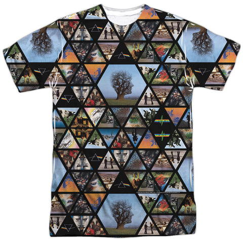 Pink Floyd Special Order Photographs Men's Regular Fit 100% Polyester Short-Sleeve T-Shirt