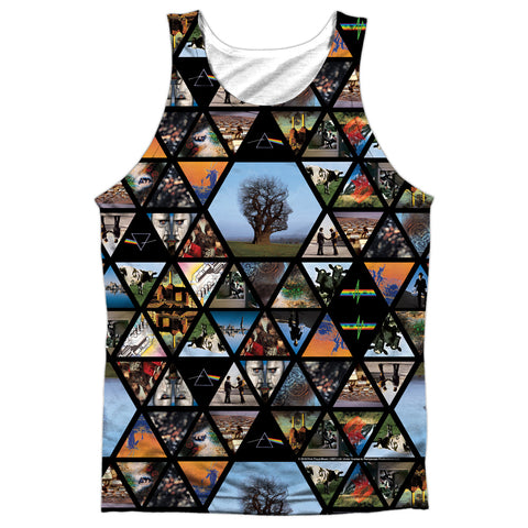 Pink Floyd Special Order Photographs Men's Regular Fit 100% Polyester Tank Top