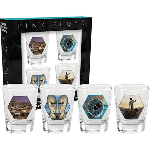 Pink Floyd Series 2 Shot Glass Set
