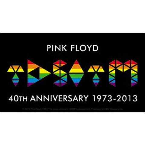 Pink Floyd The Dark Side of the Moon Logo Sticker