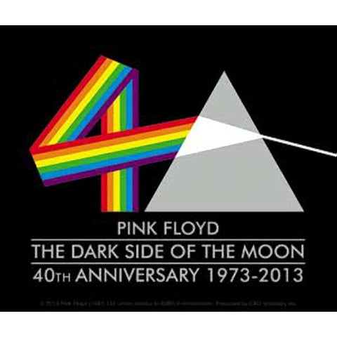Pink Floyd The Dark Side of the Moon Triangle Sticker