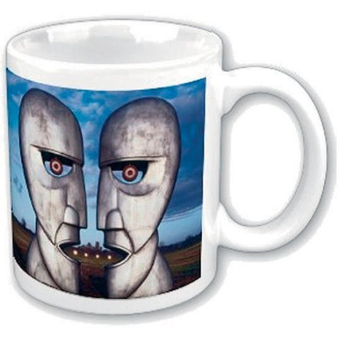 Pink Floyd The Division Bell Metal Heads Boxed Mug