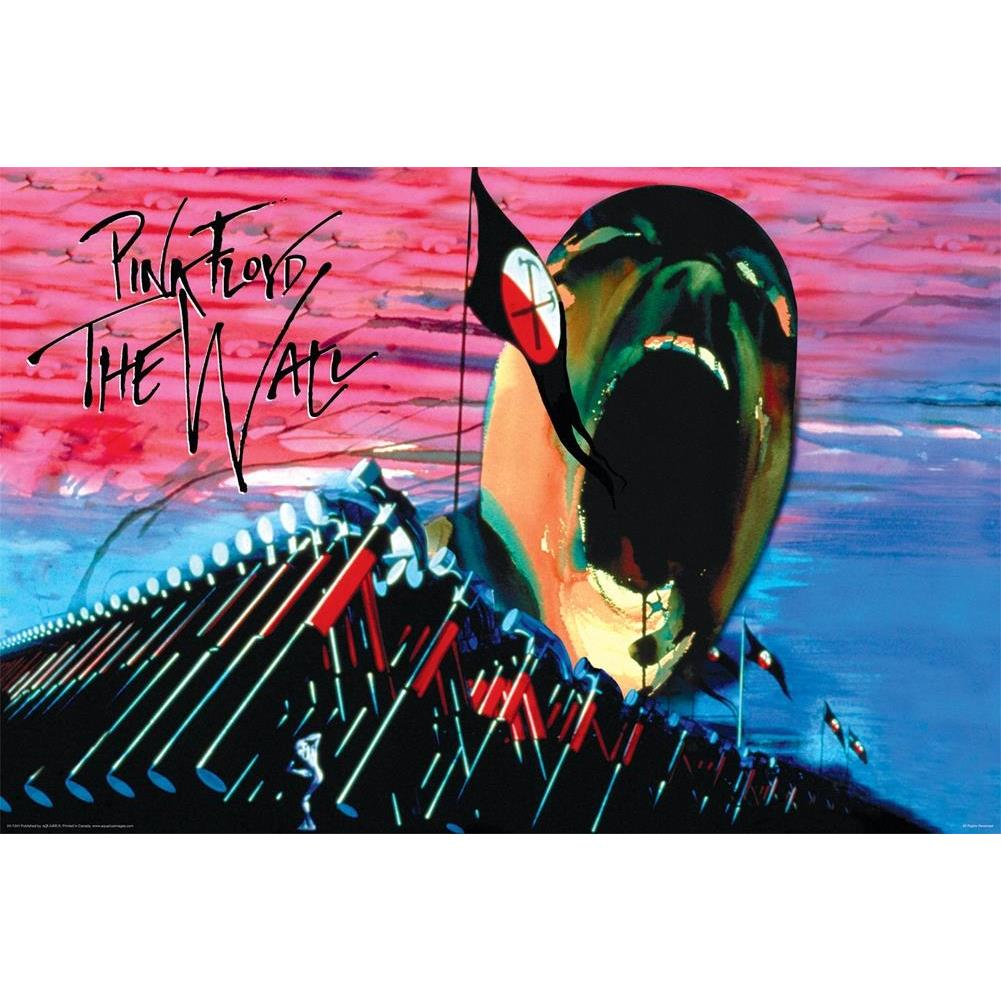 Pink Floyd The Wall Hammers And Face Poster