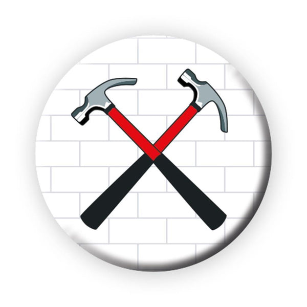Pink Floyd The Wall Hammers Button Rock