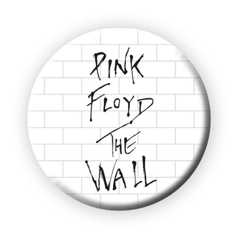 Pink Floyd The Wall Logo Button